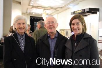 Karlie and Bill Crews with Mel Macoun