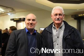 Kevin Thorton and Brian Pallister