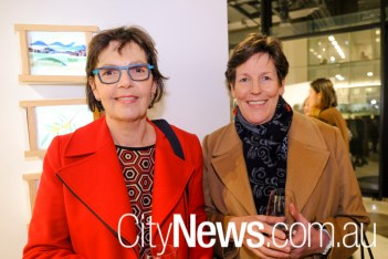 Judy Hiscox and Jane Carver