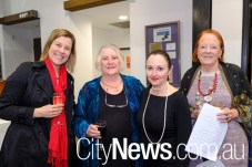 Kylie Kook, Anne Somers, Linda Gledhill and Sue Janssens