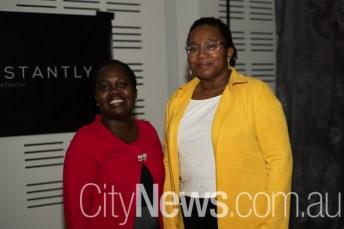 Edith Muruka and Barbara Collett