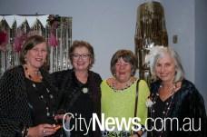 Joy Tonkin, Susan Pitt, Carol Summerhayes and Marion Blake