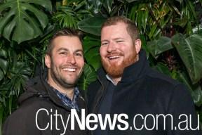 Nick Haralambous and Michael Prendergast
