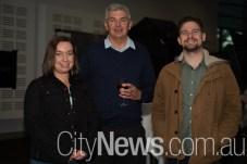 Nikki Podplesky, Wayne Pethybridge and Joe Podplesky