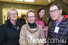 Rebecca Curtin with Susan and David Chessell