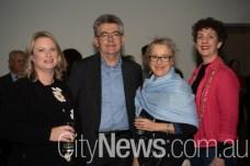 Samantha Taylor, Athol Chalmers, Alison Dell and Pamela Chilman