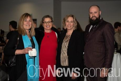 Sue Oliver, Sally Visser-Marchant, April Mack and Bear Payne