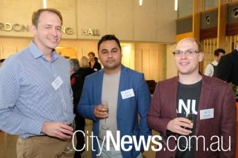 Alex Claudianos, Sanjay Ghatani and Charles Gretton