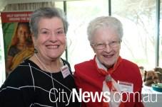 Barbara Gardiner and Judy Kenny