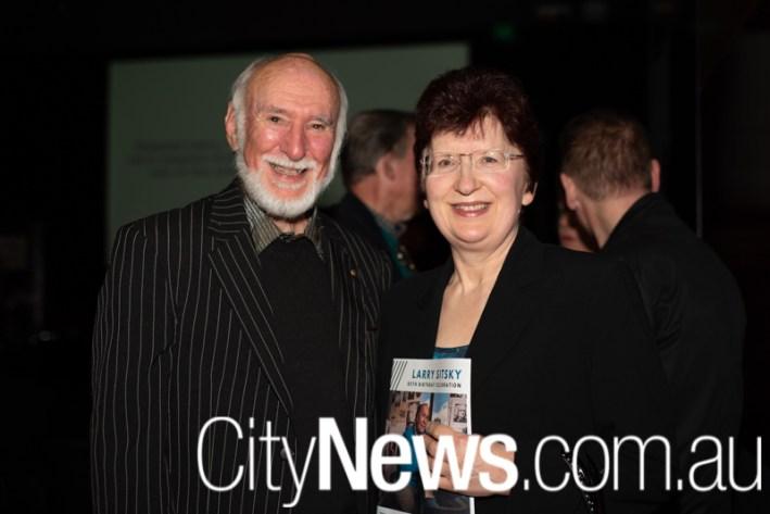 Bill Stephens and Anna Meszaros