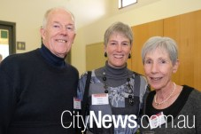 Brian and Debbie Kensey with Joan Warhurst