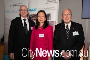 Geoffrey Crisp, Ting Wang and Malcolm Beazley
