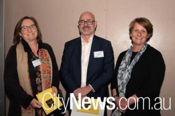 Josephine Caffery, Robert Fitzgerald and Kerrie Heath