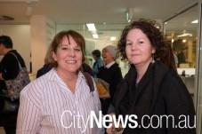 Lisa O'Brian and Rebecca Coronel