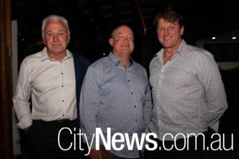 Rob Maiden, Mark Alabaster and Tim Brown