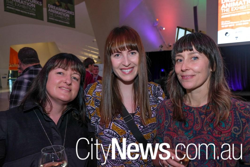 Sherryn Vardy, Tegan McAuley and Karla Way