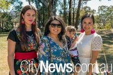 Yuvia Rodriguez, Stephanie Arias and Blanca Sanchez