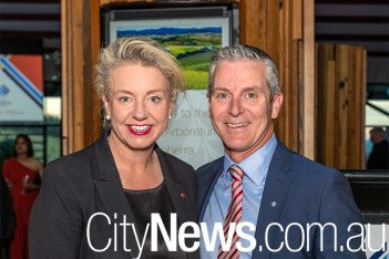 Bridget McKenzie and Matt Linnegar