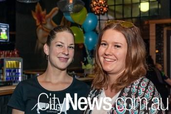 Kristin Pretorius and Hannah Gardiner