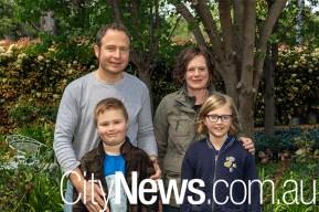 Nathan, Reuben, Alexandra and Gabrielle