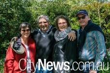 Treena Balmain, andJohn Coleman with Pam and John Gordon