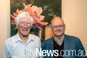 Barry Wilson and Bob Mounic