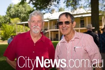 Gerry Gillespie and David Marsh