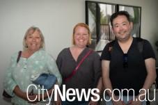 Jenny Bourke, Clare Hamilton and Eric Lam