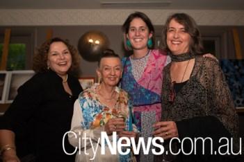 Julia Pratt, Carmel McCrow, Annika Romeyn and Frances Wild