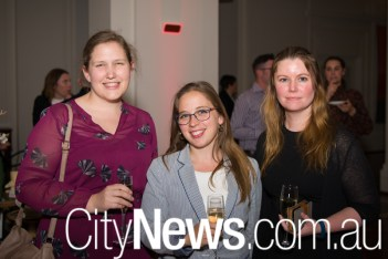 Kate Morris, Ann-Elise Koerntjes and Holly Anderson