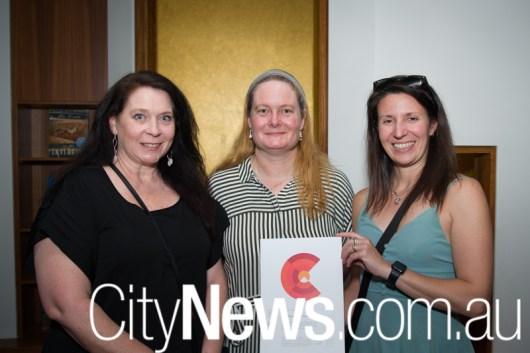 Kelda McManus, Andrea Clifford-Jones and Nikole Neal