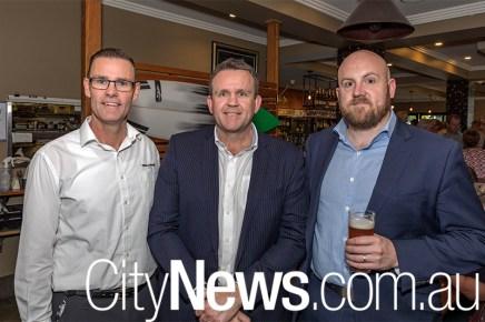 Peter Norton, Paul Eccles and Simon Chester