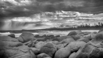 Storm clouds over Tuross Head. Photo: Heide Smith
