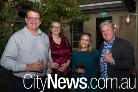 Andrew and Donna Topp with Katey Johnstone and Murray Barton