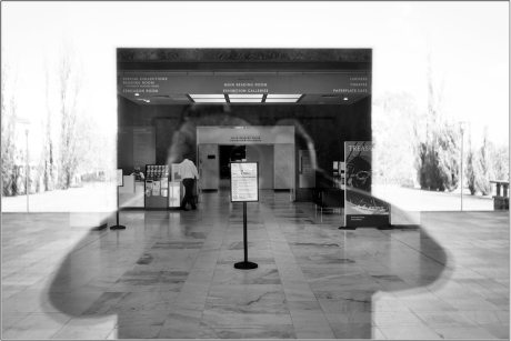 Nothing doing at the National Library. Photo: Andrew Campbell