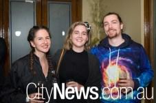 Andie Egan, Rebecca Stark and Max Freeman