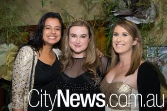 Natasha Chabbra, Beatrice Smith and Adrienne Carey