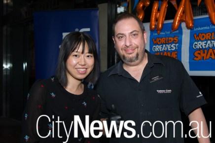 Sara Yao and Anthony Paragalli