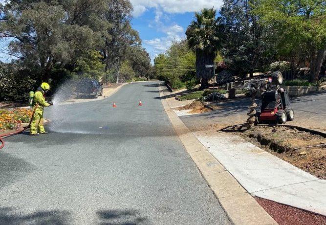 Fire crews battle gas leak in Bruce