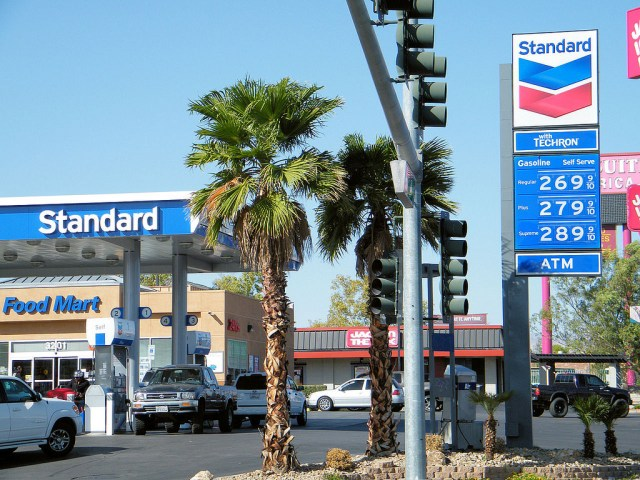 Low gas prices: worse news than you think. Credit: Minale Tattersfield, Flickr