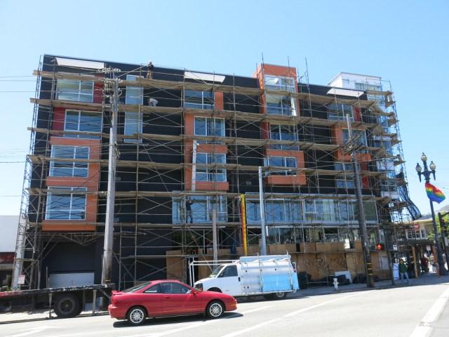 New construction in San Francisco. Credit: torbakhopper, Flickr