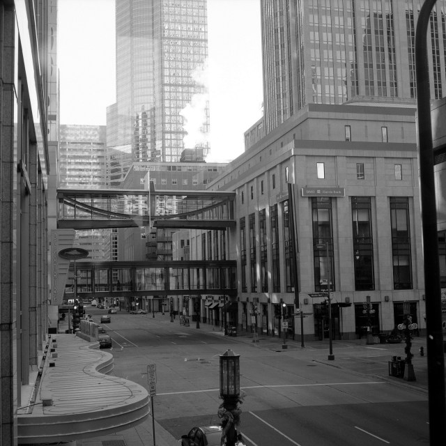 Skyways in downtown Minneapolis. Credit: photogreuphies, Flickr
