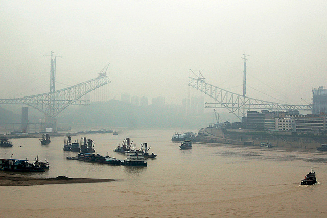 Chaotianmen Bridge, Chongqing (Flickr: Robert Cortright)