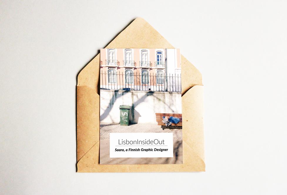 LisbonInsideOut: Saara, a Finnish Graphic Designer