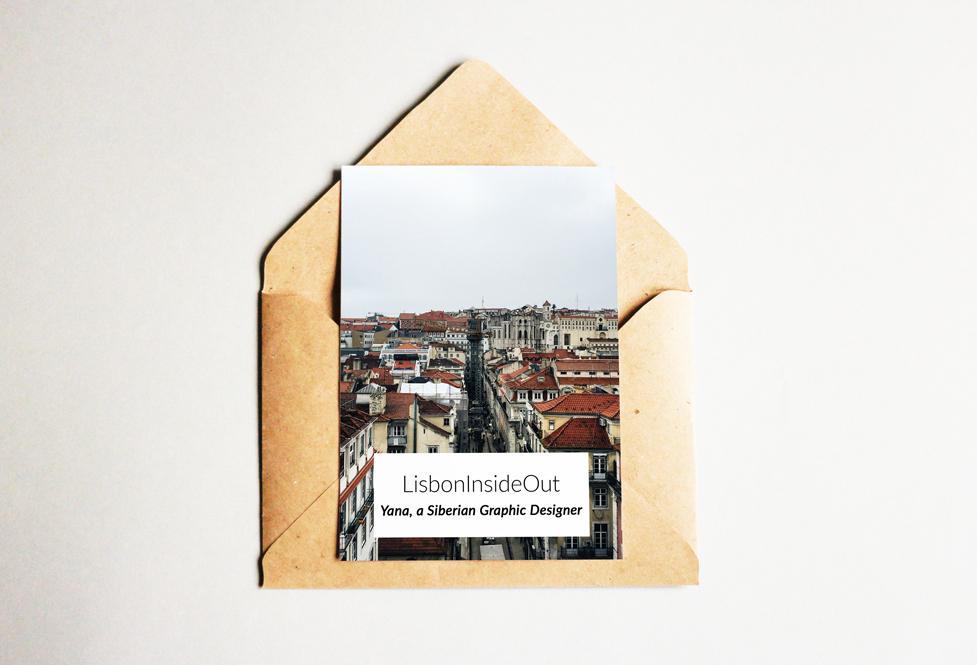 LisbonInsideOut: Yana, a Siberian Graphic Designer