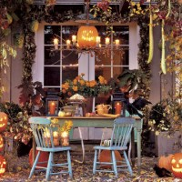 Decorating for Halloween in less than 27.5 Hours!