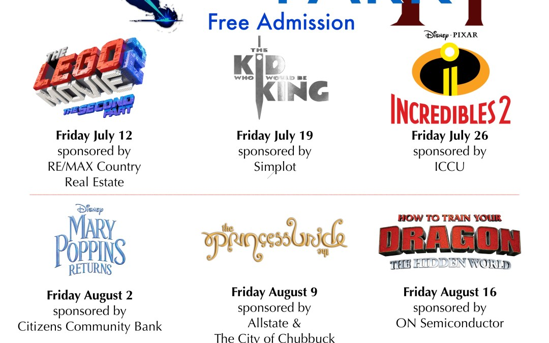 2019 Chubbuck Movies in the Park