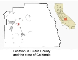 location in tulare county