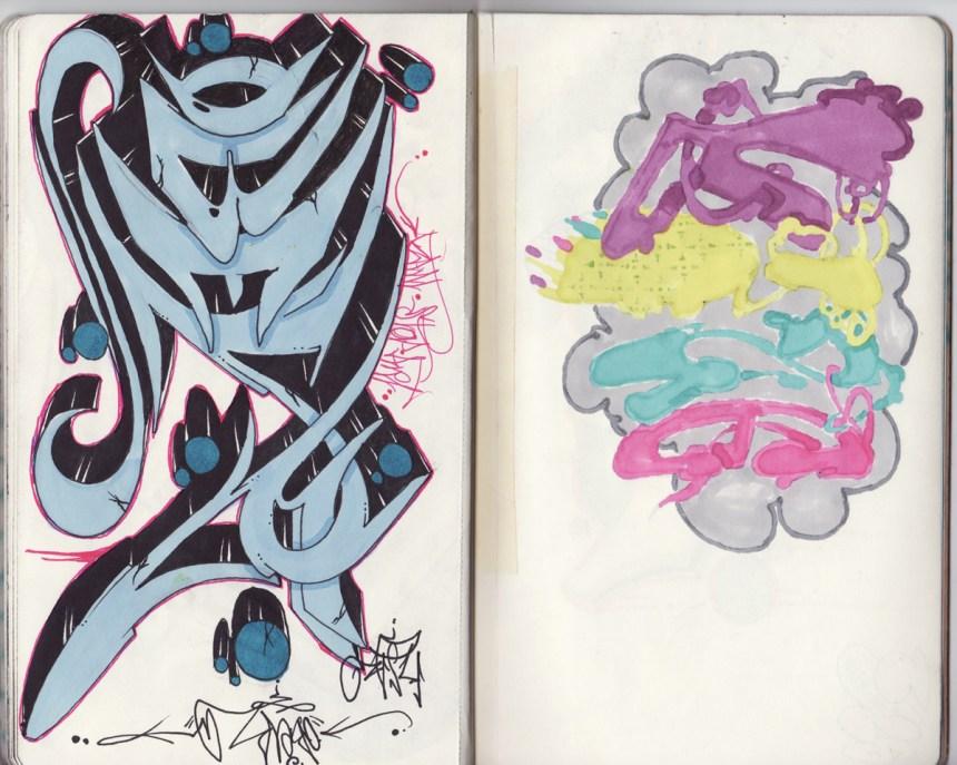 sketchbook project, chicago art artist, illustration, graffiti, over, ksa