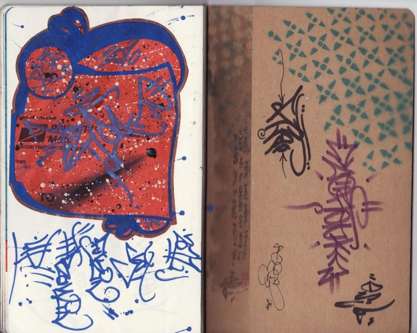 sketchbook project, chicago art artist, illustration, graffiti, tek, ober, rise, ksa